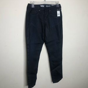 Mossimo Mid Rise Jeggings 0 Jeans Dark Wash